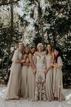 boho wedding dress Rue De Seine wedding dresses represents romantic, feminine and bohemian reates amazing collections of unique wedding dresses with appliqus. Perfect Wedding, Dream Wedding, Wedding Day, Summer Wedding, Wedding Venues, Wedding Table, Wedding In Forest, Diy Wedding, Wedding Decor