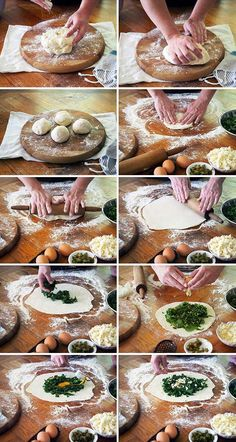 Easy Gozlame Recipe - with step by step photos | www.bellyrumbles.com