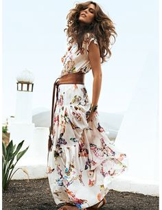 Tiered Maxi Skirt 05/2012