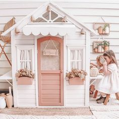 Cubby Houses, Play Houses, Outdoor Fun For Kids, Play Spaces, Kids Bedroom, Kids Rooms, Other Rooms, Cubbies, Decoration