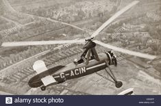 Download this stock image: Juan de la Cierva's Autogyro c.1923. From The Story of 25 Eventful Years in Pictures, published 1935. - CEE87F from Alamy's library of millions of high resolution stock photos, illustrations and vectors.