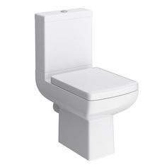 Milan Modern Short Projection Toilet with Soft Close Seat