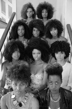 afro hair, natural hair, braids, black girls, curly hair,: