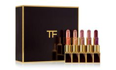 Idée cadeaux de Noël : Coffret de 10 rouges à lèvres, Lips & Boys 10 piece set, Tom Ford