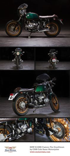 #BMW R100RS Custom, The GranDream by @C59R Cafe Racer Motorcycles Cafe Racer Motorcycles Cafe Racer Motorcycles ~ Featured on Moto Rivista