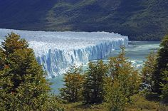 Perito Moreno Glacier, Argentina - If you go during the summer you can see the glacier break off huge pieces as it melts.