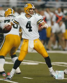 "Brett Favre - Green Bay Packers - 8"" X 10"" NFL Football Pictures & Autographs"
