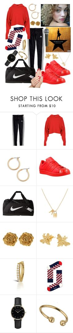 """Listen"" by ellaholdenking ❤ liked on Polyvore featuring Madewell, TIBI, Nordstrom, adidas, NIKE, Liberty, Maria Tash, Happy Socks, ROSEFIELD and Miss Selfridge"