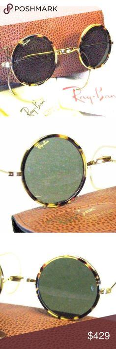 5208cdd0b9c Ray-Ban USA Vintage B L Cheyenne I W175 Sunglasses  New Ray-Ban USA