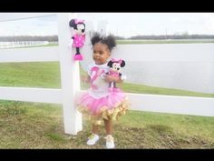How to make a Minnie Mouse Birthday Party Tutu Dress - DIY Tutu Tutorial - YouTube