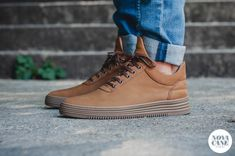 f34bbd09189 Filling Pieces Low Top all Leather Cacao   Novacane Store Heilbronn
