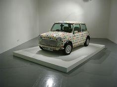 Speed Freaks - Damien Hirst's polka-dot Mini Cooper. Courtesy of Venus Over Manhatta