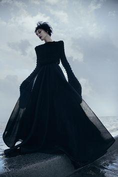 Dark Velvet, fashion photography by Alice Berg - Cool memories, photo manipulation by Tim Navis - ego-alterego.com
