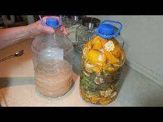 Meyve Kabuklarından Çamaşır Yumuşatıcısı Nasıl Yapılır? - YouTube