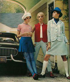 Seventeen magazine February 1968. hat
