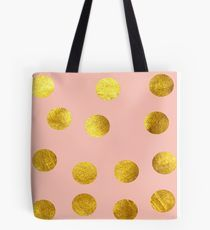 Gold and pink dots by susycosta