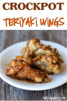 Crockpot Teriyaki Pineapple Chicken Wings Recipe! ~ from TheFrugalGirls.com ~ this easy Slow Cooker wings recipes is perfect for parties, Game Day, or a delicious dinner! #slowcooker #recipes #thefrugalgirls