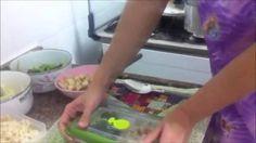 Congelamento de alimentos e preparo das marmitas
