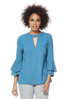 0a16b2d236b Clothing | F&F Clothing & Fashion | Tesco. Tesco DirectBell Sleeve Top Chokers