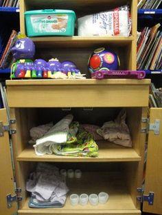 Kindergarten literacy centers