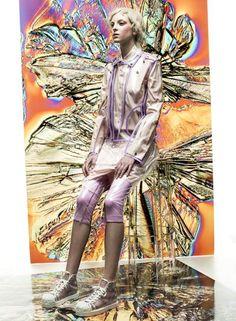 Publication: MaG Spring 2014 Model: Bibiana Photographer: Mato Johannik Fashion Editor: Roman Globan