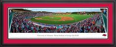 University of Arkansas - Baum Stadium - George Cole Field Panoramic Picture $199.95