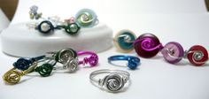 Shealynn's Faerie Shoppe: Wirewrapped Rosette Ring { Tutorial }