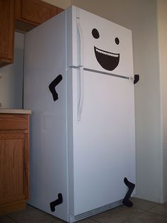 "give it an evil face and it's ""Attack of the Killer Refrigerator!"" @Wondra Vanian"