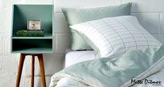 Mette Ditmer sengetøj - Tile Stone Green