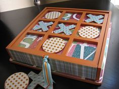 Could you use cigar boxes....