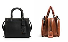 COACH 1941 Glovetanned Pebble Rogue 25 Satchel