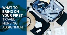 As an RN embarking on your first travel assignment you might be wondering what to bring. Check out these tips on what to bring on your first travel nursing job.