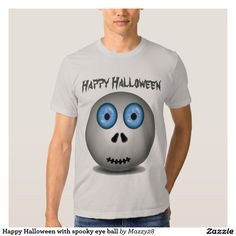 Happy Halloween with spooky eye ball
