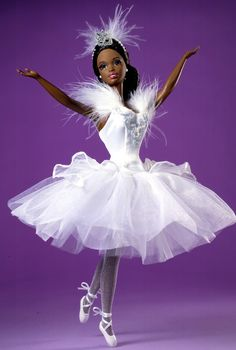 4610b5f071c9 Barbie® Doll as the Swan Queen in Swan Lake (African-American) Children's  Barbie Dolls - View Fairytale Dolls, Princess Dolls & Ballerina Dolls