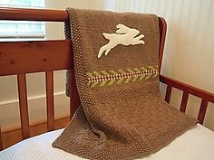 Ravelry: Henrys Blanket pattern by Sara Elizabeth Kellner free, its a rabbit.she makes lovely animal patterns, not my thing but I know other knitters enjoy so check them out Knitting Patterns Free, Free Knitting, Baby Knitting, Free Pattern, Web Patterns, Simple Pattern, Animal Patterns, Afghan Patterns, Bunny Blanket
