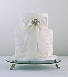 Lovely, small, wedding cake!