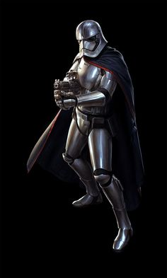 SW:Destiny - Captain Phasma by wraithdt.deviantart.com on @DeviantArt