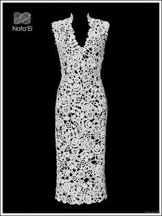 платье в технике ирландского кружева схемы: 25 тыс изображений найдено в Яндекс.Картинках