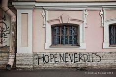 Hope Never Dies in Saint Petersburg Russia by NostalgiaPhotographs, $30.00