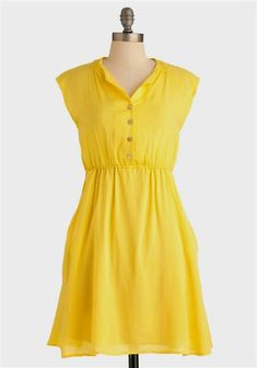 Awesome casual yellow dresses Check more at http://bestclotheshop.com/dresses-review/casual-yellow-dresses/