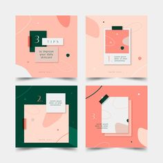 Discover thousands of free-copyright vectors on Freepik Instagram Feed Layout, Feeds Instagram, Instagram Post Template, Instagram Design, Photo Instagram, Instagram Posts, Social Media Template, Social Media Design, Graphic Design Posters