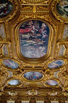 Goldener Saal Augsburg. Germany Ancient Greek City, Baroque Design, Royal House, Luxury Interior Design, Germany Travel, Palaces, Ceilings, Castles, Hobbies