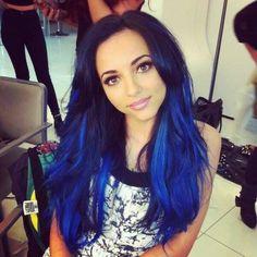 Her color looks like MANIC PANIC Rockabilly Blue!