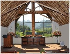 Wedding Venues in the Drakensberg Mountains at Cathedral Peak Hotel Chapel Wedding, Wedding Venues, Wedding Chapels, Gazebo, Pergola, Wedding Honeymoons, Honeymoon Destinations, Spring Wedding, Cathedral