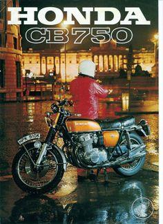 blitzmachines: Honda CB 750 Four. Honda 750, Cb750 Honda, Honda Bikes, Honda Motorcycles, Yamaha, Motos Vintage, Vintage Bikes, Vintage Motorcycles, Custom Motorcycles