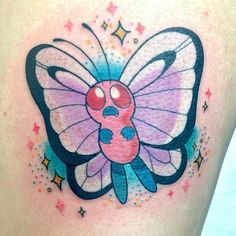#pokemonday #4  One for the ladies! Butterfree by @bunnymachine  #pokemon