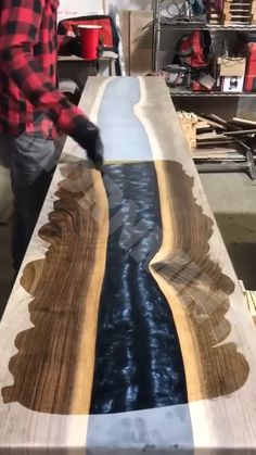 Restore, protect, or finish any wooden surface! 👍 - Effortlessly removes years of wax and dirt buildup to restore the look of your old furniture. Wood Furniture, Furniture Design, Handmade Home, Resin Table, Resin Crafts, Home Furnishings, Wood Projects, Restoration, Restore
