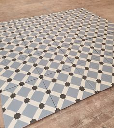 Fired Earth Hevin Glazed Patisserie Floor Tiles 20cm x 20cm 0.8cm