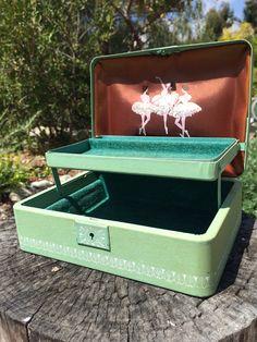 Farrington Jewelry Box Pink Farrington Jewelry Boxkthanksbyvalerie On Etsy  Vintage