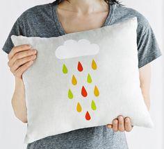 DIY stencil your cushion